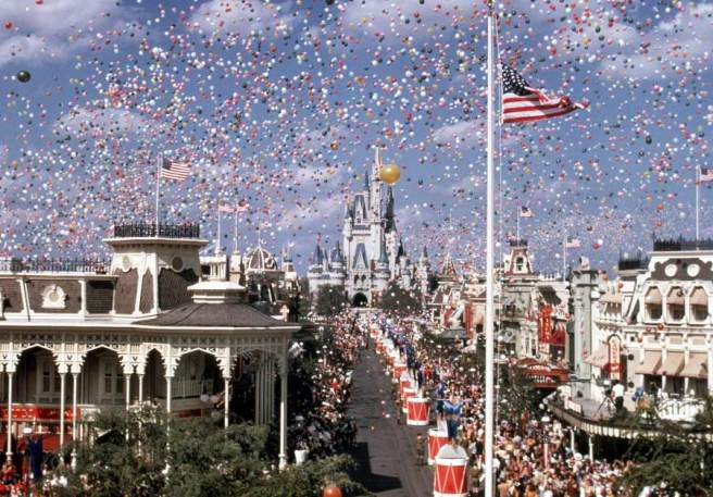 WDW Opening Day 1971